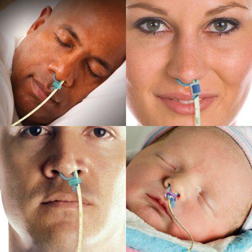 Sistema di bloccaggio del tubo nasale Amt Bridle Family, briglia nasale-2361